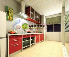 布置厨房需考虑五行平衡 - 厨房