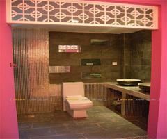 现代中式家  - 卫生间