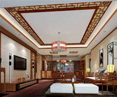 二居室新古典风格客厅装饰