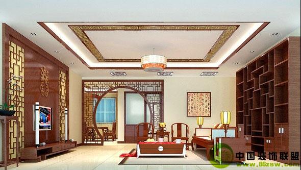 二居室新古典风格客厅装饰-客厅装修图片