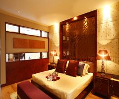 阳光拂照下的新古典空间 - 卧室