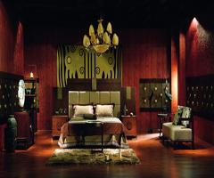 古典的温馨视觉 - 卧室