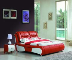 现代风格激情色彩 - 卧室