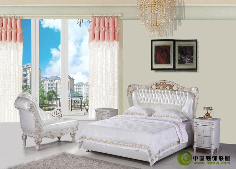 甜美欧式风 - 卧室-卧室装修效果图-八六(中国)装饰