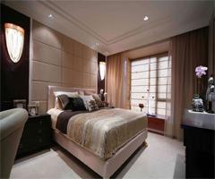 色彩艳丽的经济型装潢 - 卧室
