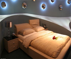简约奢华带浪漫的家居风格 - 卧室