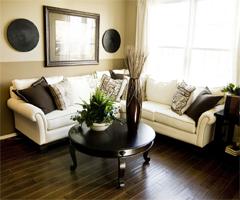 现代美式时尚居 - 客厅