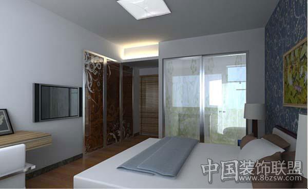 卧室设计装修整套大图展示_现代小户型装修效果图_八