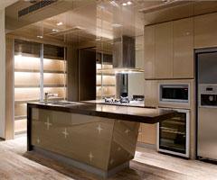 现代豪华开放式厨房设计