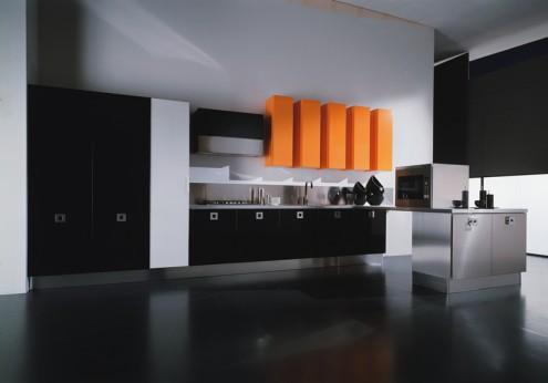 意大利现代风格厨房设计-厨房装修图片