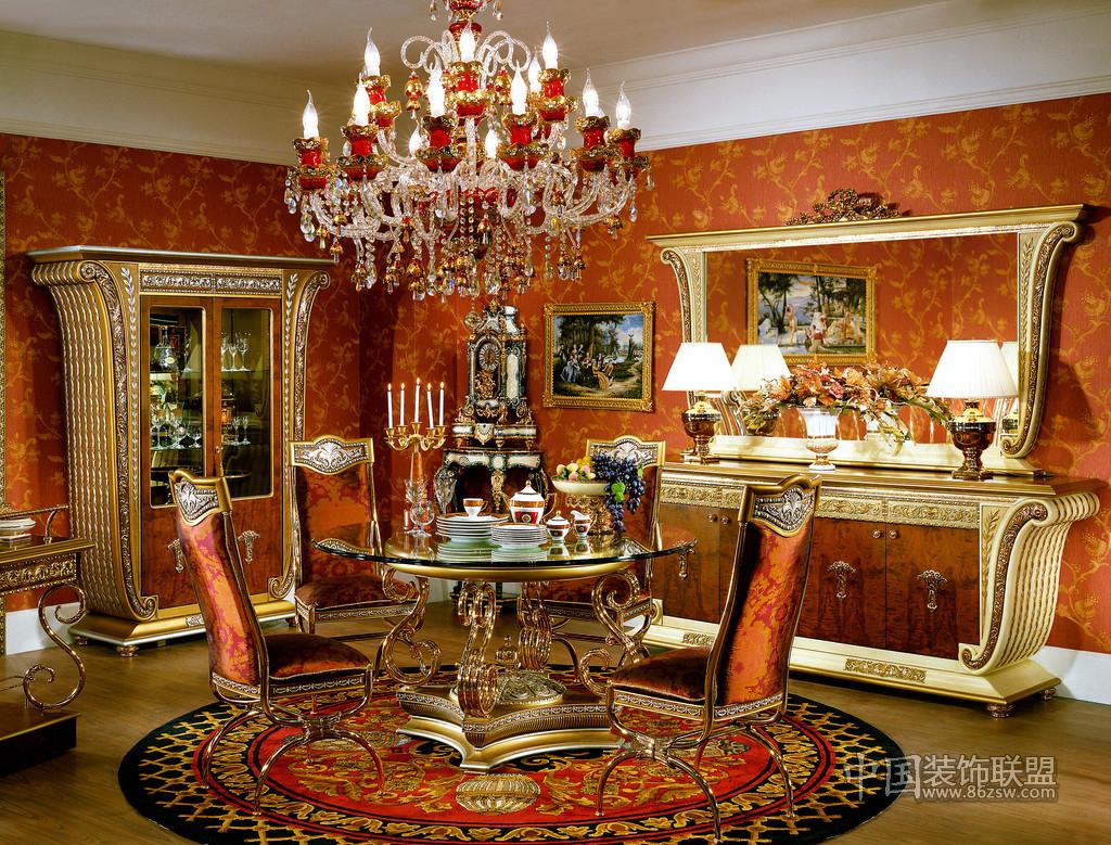 高档欧式客厅-客厅装修效果图-八六(中国)装饰联盟