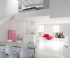 白色极简现代家居