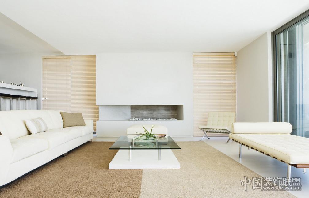 气质型美女的家居装修风格现代客厅装修图片