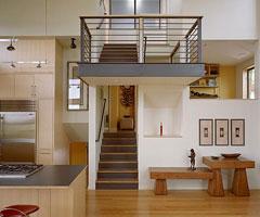 错层式别墅室内设计效果图