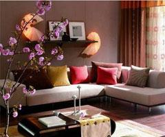 中国装饰网超美客厅样板