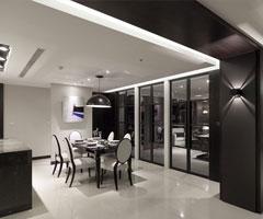 现代极简大户型客厅设计