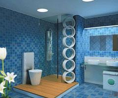 清爽卫浴装修设计 打造现代时尚生活