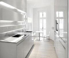 白色舒适生活空间