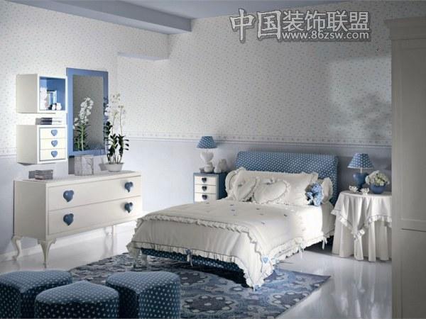 时尚典雅简略风格设计现代卧室装修图片