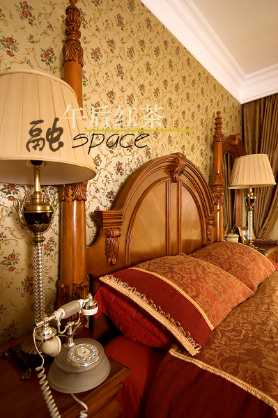 金碧辉煌的欧式浪漫洋房
