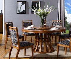 北欧极简风格实木家具欣赏