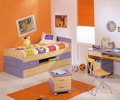 超级缤纷多彩的儿童房