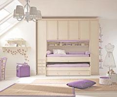 清新脱俗雅致的儿童房设计