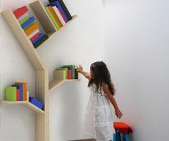 另类创意书柜设计风格