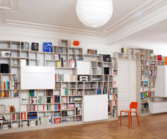 别有风味的国外创意家居书柜