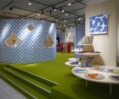 日本新宿的展台设计