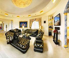 金碧辉煌的西班牙别墅风格