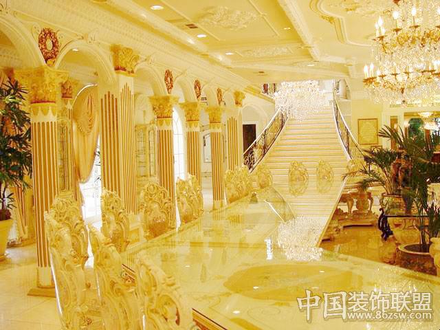 富丽堂皇的欧美豪华住宅儿童房装修图片