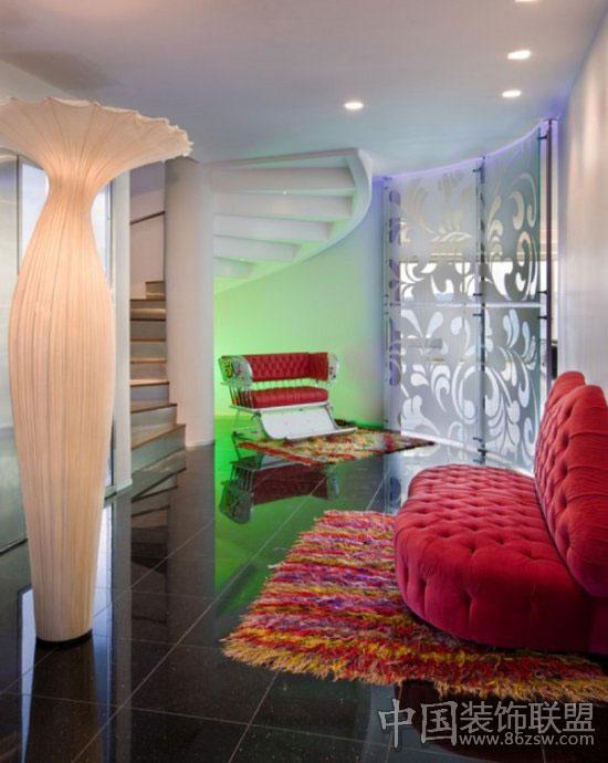 童话般的现代豪华别墅-欧式风格装修效果图-八六装饰