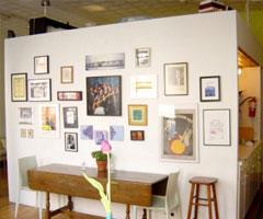 照片装饰墙让家充满艺术气息