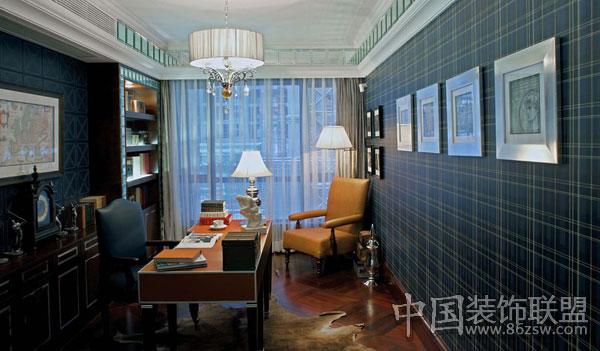 绝对精品 低调奢华别墅豪宅-书房装修图片