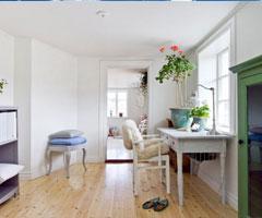 木质家具打造清新质朴别墅