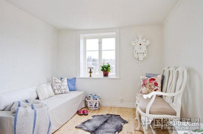 木质家具打造清新质朴别墅-卧室装修效果图-八六(中国