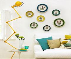 三色搭配 打造空间美感