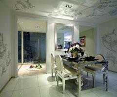 欧式特色花纹田园公寓