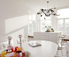 阿姆斯特丹的洁白公寓