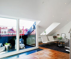 斯德哥尔摩超酷复式建筑
