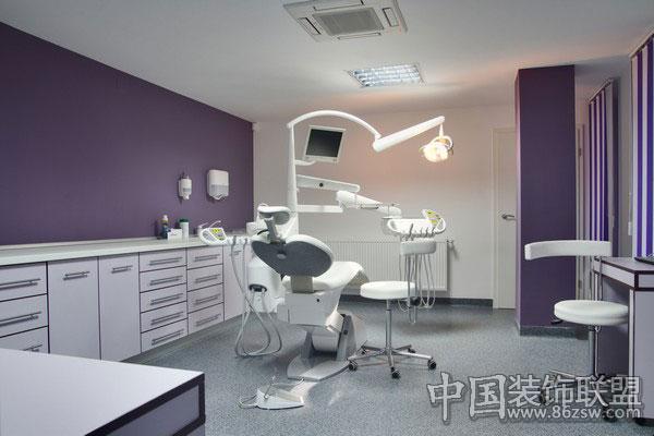 牙科诊所室内设计; 布加勒斯特牙科诊所室内设计;