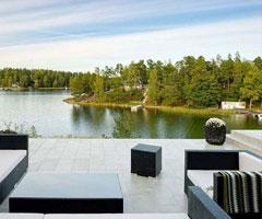 斯德哥尔摩别墅清新风格