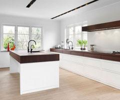 时尚纯白家居厨房设计