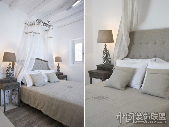 希腊地中海风格别墅设计高清图片