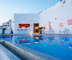 人间美景 希腊海边度假村