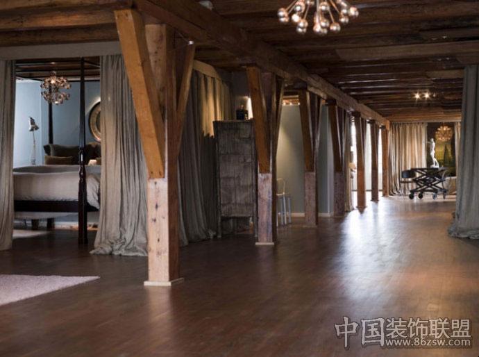 阁楼复合木地板