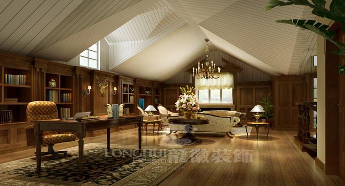 成都后花园别墅设计欧式客厅装修图片