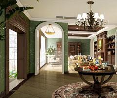 成都三利宅院别墅设计(2)欧式风格别墅
