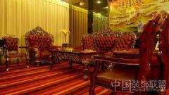 人间罕见的顶级豪华会所欧式客厅装修图片